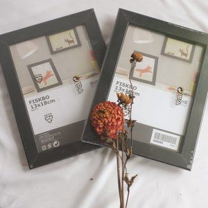 Set of two black picture frames from IKEA